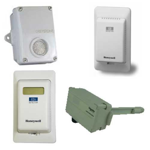 CO and CO2 Sensors