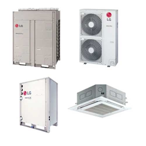 VRF/VRV Air Conditioners and Hot Water Solutions